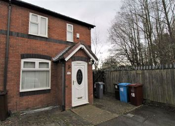 Thumbnail 2 bed end terrace house for sale in Bracewell Close, Manchester