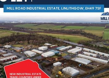 Thumbnail Light industrial to let in New Industrial Estate Trade Counters, Mill Road, Mill Road Industrial Estate, Linlithgow