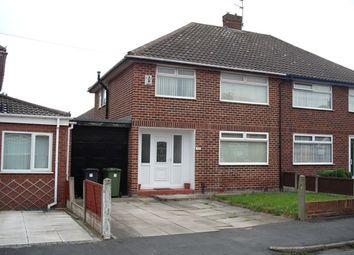 Thumbnail 3 bed semi-detached house to rent in Taunton Drive, Aintree, Merseyside