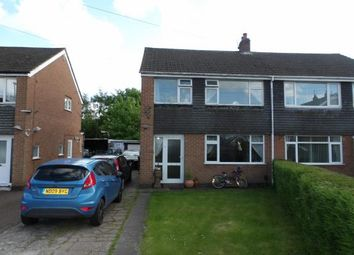 Thumbnail 3 bed terraced house for sale in Garfield Road, Hugglescote, Coalville