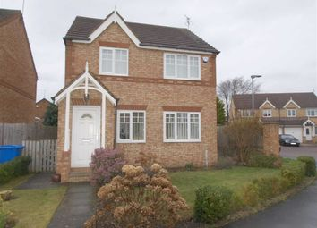 Thumbnail 3 bed detached house for sale in Millbrook Road, Cramlington
