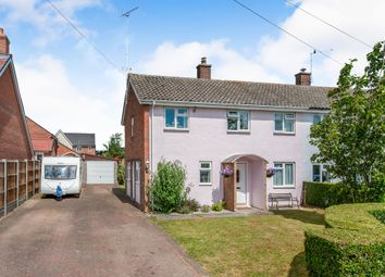 Thumbnail 3 bed semi-detached house for sale in Mill Road, Kedington, Haverhill