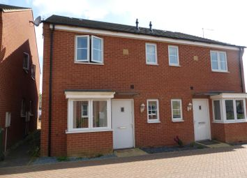 Thumbnail 1 bedroom terraced house for sale in Neptune Close, Cardea, Peterborough