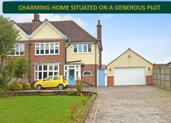 Thumbnail 3 bed semi-detached house for sale in Lutterworth Road, Aylestone, Leicester