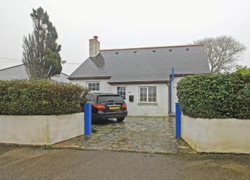 Thumbnail 3 bed detached house for sale in Churchtown Road, Gerrans, Portscatho