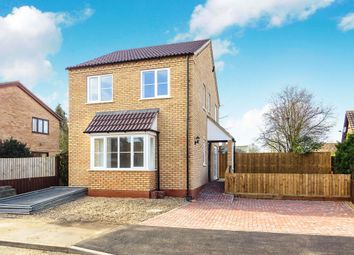 Thumbnail 3 bedroom detached house for sale in Orchard Way, Manea, March