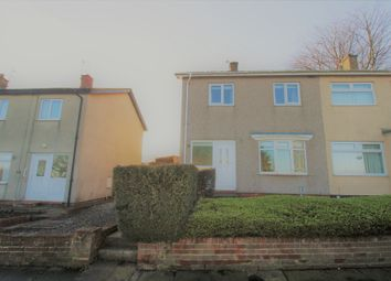 Thumbnail 2 bed semi-detached house for sale in Lowhills Road, Peterlee