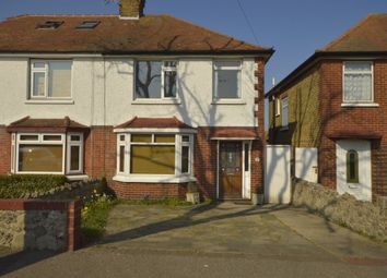 Thumbnail 3 bed semi-detached house to rent in Station Approach Road, Ramsgate
