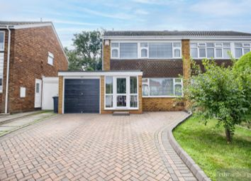 Thumbnail 3 bed semi-detached house for sale in The Orchard, Marston Green
