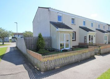 Thumbnail 3 bed end terrace house for sale in Abbey Crescent, Kinloss, Forres