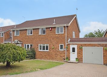 Thumbnail 3 bed semi-detached house for sale in Newlands, Ashford