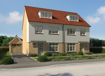 Thumbnail 4 bed semi-detached house for sale in Westley Green, Dry Street, Langdon Hills, Essex