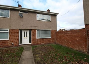 Thumbnail Terraced house for sale in Matfen Close, Blyth