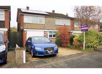 Thumbnail 3 bed semi-detached house for sale in Oakdene, Cheshunt