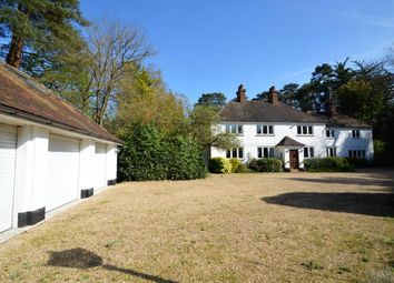 Thumbnail 5 bedroom detached house for sale in The Ridges, Finchampstead