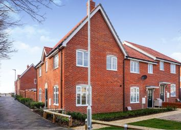 3 bed end terrace house for sale in Brooke Way, Stowmarket IP14