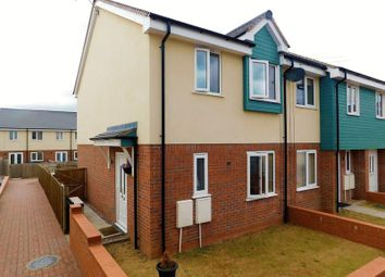 Thumbnail 3 bed end terrace house for sale in Sherwood Court, Stafford