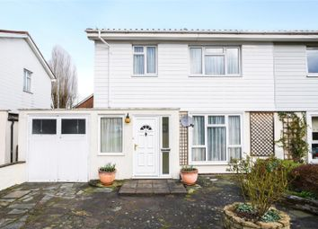 Thumbnail 3 bed semi-detached house for sale in Wyndham Avenue, Cobham, Surrey