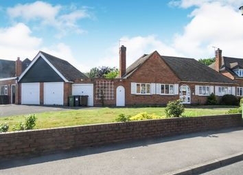 Thumbnail 3 bedroom detached bungalow for sale in Woodlea Drive, Solihull