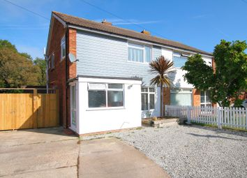 Thumbnail 3 bed semi-detached house for sale in Pettman Close, Herne Bay