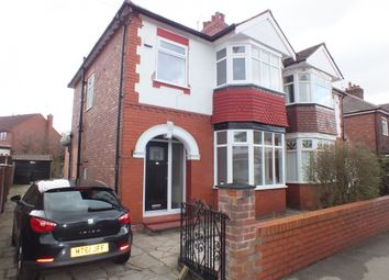 Thumbnail 3 bed semi-detached house for sale in Curzon Road, Stockport, Cheshire