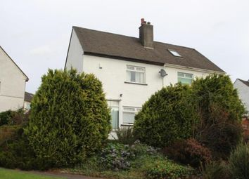 Thumbnail 2 bed semi-detached house for sale in School Road, Paisley, Renfrewshire
