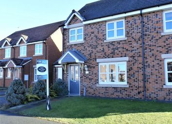 Thumbnail 3 bed semi-detached house for sale in Beachcroft, Hadston, Morpeth