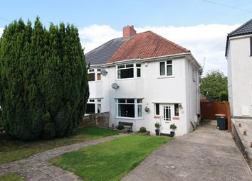 Thumbnail 3 bed semi-detached house for sale in Bassaleg Road, Newport