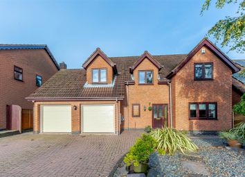 Thumbnail 4 bed detached house for sale in Forrester Close, Coleorton, Coalville