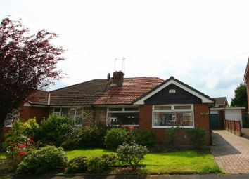 Thumbnail 3 bed semi-detached bungalow for sale in Wyre Drive, Worsley, Manchester
