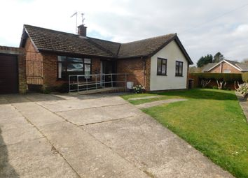 Thumbnail 3 bed detached bungalow for sale in Stearn Drive, Onehouse, Stowmarket