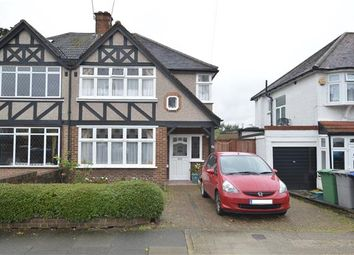 Thumbnail 3 bed semi-detached house for sale in Crundale Avenue, London
