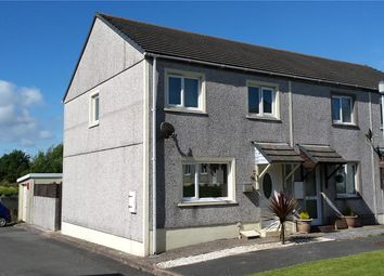 Thumbnail 2 bed semi-detached house for sale in Howells Close, Monkton, Pembroke