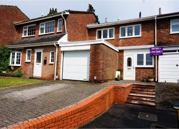 Thumbnail 3 bed terraced house for sale in Frescade Crescent, Basingstoke