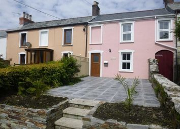 Thumbnail 2 bed terraced house to rent in Victoria Road, Camelford, Cornwall