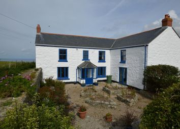 Thumbnail 5 bed detached house for sale in Sennen, Penzance, Cornwall