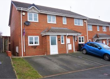 Thumbnail 3 bed semi-detached house for sale in Broughton Heights, Pentre Broughton