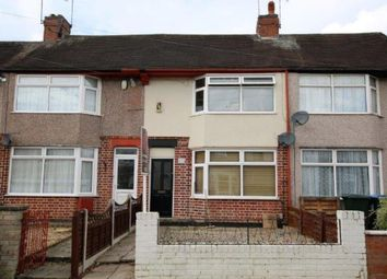 Thumbnail 2 bedroom terraced house to rent in Telfer Road, Coventry