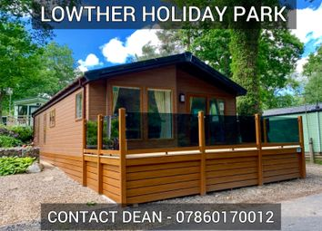 Thumbnail 2 bedroom lodge for sale in Lowther Holiday Park, Penrith, Cumbria