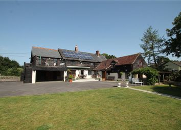 Thumbnail 6 bedroom detached house for sale in The Causeway, Hazelbury Bryan, Sturminster Newton, Dorset