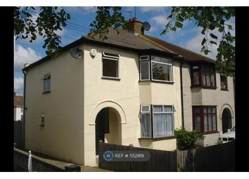 Thumbnail 3 bed semi-detached house to rent in Hall Road, Northfleet, Gravesend