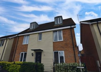 Thumbnail 1 bed detached house for sale in Farrow Avenue, Peterborough