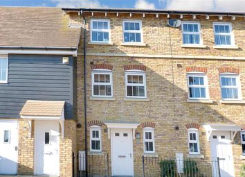 Thumbnail 3 bed town house for sale in Plummer Crescent, Sittingbourne, Kent