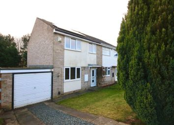 Thumbnail 3 bed semi-detached house to rent in Littlebeck Drive, Darlington