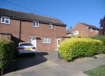 Thumbnail 3 bed semi-detached house to rent in Holyrood Crescent, St Albans