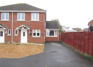 Thumbnail 3 bed semi-detached house for sale in Gilbert Close, Whittlesey, Peterborough