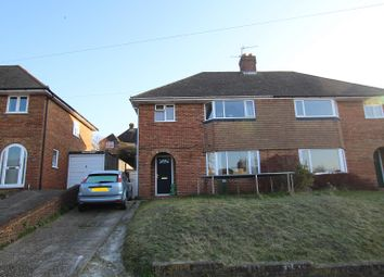 Thumbnail 3 bed semi-detached house for sale in Fitzjohns Road, Lewes, East Sussex.