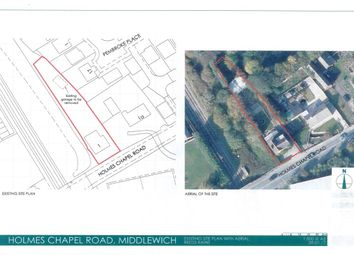 Thumbnail Land for sale in Holmes Chapel Road, Middlewich