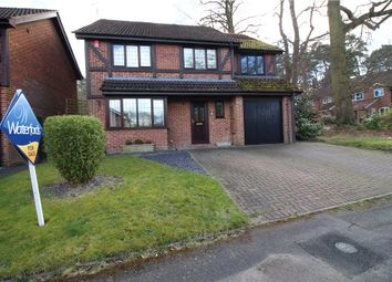 Thumbnail 5 bed detached house for sale in Shaftesbury Mount, Blackwater, Camberley, Surrey