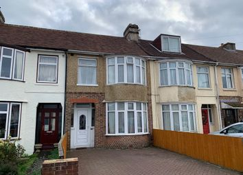 Thumbnail 3 bed terraced house to rent in Eastbourne Avenue, Gosport